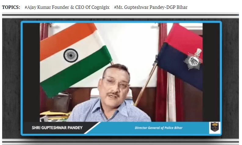Mr Gupteshwar Pandey-DGP, Bihar