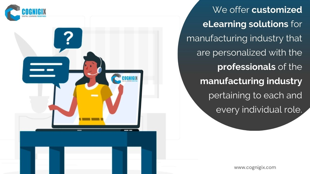 customized e learning solutions for manufacturing